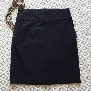 Banana Republic black pencil skirt, size 6